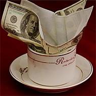 Hot nye 100 dollar toiletpapirservietter blød udskrivning naturlig komfort sjov personlighed populær mode