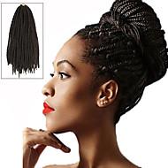 box Vlechten Twist Vlechten Hair Extensions 24Inch Kanekalon 24 Strands Strand 90g gram haar Vlechten