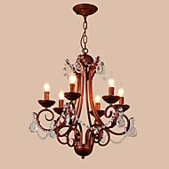 מנורות תלויות ,  מודרני / חדיש מסורתי/ קלאסי סגנון חלוד/בקתה וינטאג' רטרו גס צביעה מאפיין for קריסטל מתכתחדר שינה חדר אוכל חדר עבודה /