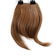 Neitsi 1pcs 8 '' 25g / pc auf Haar Franse kurzes gerade synthetisches Haar in Clip Pony 27 #