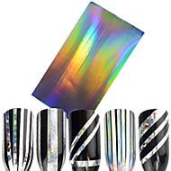 1pcs Nail Art matrica Csillogás & Púder 3D-s körömmatricák Műköröm díszek smink Kozmetika Nail Art Design