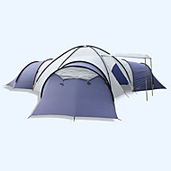 LYTOP/飞拓 > 8 persone Tenda Doppio Tenda ripiegabile Quattro camere Tenda da campeggio Fibra di vetro OxfordImpermeabile Traspirabilità