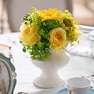 1 ブランチ テーブルトップフラワー 人工花