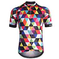 Fastcute Jerseu Cycling Bărbați Manșon scurt Bicicletă Jerseu TopuriUscare rapidă Fermoar Față Respirabil Κατά του ιδρώτα Înapoi de