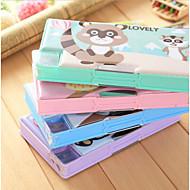 동물 사각형 상자 크리 에이 티브 편지지 1 pc 임의의 색상