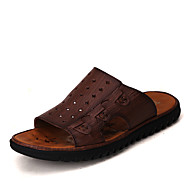 Menns sandaler sommer komfort kohud utendørs uformell