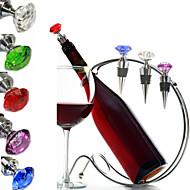 ストッパー&ポアラー プレゼント For バー用品 ワイン メタル ガラス
