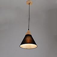 Luzes Pingente ,  Contemprâneo Pintura Característica for LED Madeira/BambuSala de Estar Quarto Sala de Jantar Cozinha Quarto de