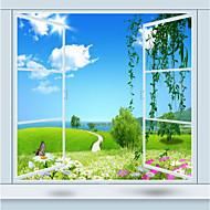 Copaci/Frunze 3D Pozadina Za kuću Suvremena Zidnih obloga , Canvas Materijal Ljepila potrebna Mural , Soba dekoracija ili zaštita za zid