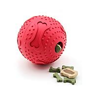 猫用おもちゃ 犬用おもちゃ ペット用おもちゃ ボール型 おやつボール ボーン