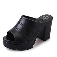 Ženske Cipele na petu Proljeće Ljeto Jesen Udobne cipele PU Ležeran Kockasta potpetica