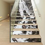 נוף מדבקות קיר מדבקות קיר תלת מימד מדבקות קיר דקורטיביות,ויניל חוֹמֶר קישוט הבית מדבקות קיר