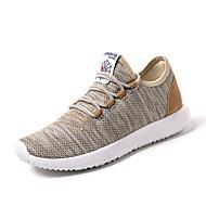 Sneakers-Tyl-Komfort Lysende såler-Herrer--Udendørs Fritid Sport-Flad hæl
