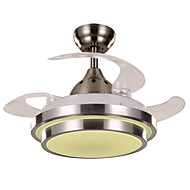 天井ファン ,  現代風 ペインティング 特徴 for LED デザイナー メタル リビングルーム ベッドルーム ダイニングルーム キッチン 研究室/オフィス