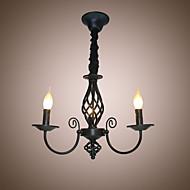 샹들리에 ,  클래식 / 전통 페인팅 특색 for 촛불 스타일 금속 침실 주방 키즈 룸 입구 현관
