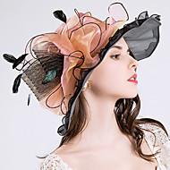 여성 귀여운 캐쥬얼 버킷 햇 태양 모자 메쉬 폴리에스테르 봄 여름