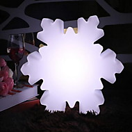 LED Snowflake Modeling Light Creative Charge Night Light Remote Control Colorful Night Light