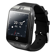 Q18lus mtk6572 dual core 3g opkald nternet wifi gps positionering android smartwatch telefon