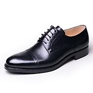 Nokasíny-Kůže-Společenské boty-Pánské--Outdoor Běžné-Nízký podpatek