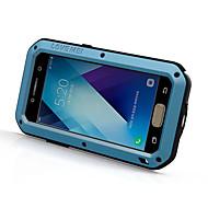 のために 耐水 耐衝撃 ケース フルボディー ケース ソリッドカラー ハード メタル のために Samsung A5(2017) A3(2017)