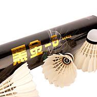 12PCS レジャースポーツ シャトル 耐久性 非変形 安定性 のために 鵞毛
