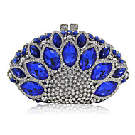 Women Metal Formal Event/Party Wedding Evening Bag Diamonds Clutch HandbagPurse/Gemstone