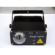 LED-Floodlights Magic LED Light Ball Party Disco Club DJ Toon Lumiere LED Crystal Light Laser Projector 150W - - -Automatische strobe