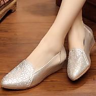 Dame-Tekstil-Kilehæl-Komfort-一脚蹬鞋、懒人鞋-Friluft Fritid-