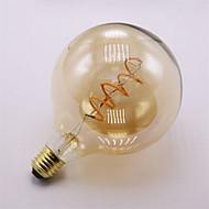 4W E27 Izzószálas LED lámpák G125 1 COB 400 lm Meleg fehér Állítható Dekoratív AC 220-240 V 1 db.