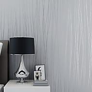 3D В полоску Обои Для дома Современный Облицовка стен , Нетканые бумаги материал Самоклейки обои , Обои для дома