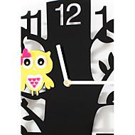 Moderno/Contemporâneo Relógio de parede,Inovador Acrílico Interior Relógio