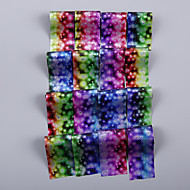 16 Adesivos para Manicure Artística Folha Tape Stripping maquiagem Cosméticos Designs para Manicure