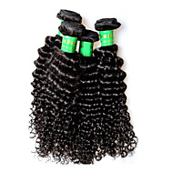 400g 4bundles indian kinky curly virgin hair deal 8a gatunek indian remy ludzkie włosy rozszerzenia tkactwo pełne zakończenie 100g / szt