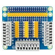 Ahududu pi 3 için çok fonksiyonlu gpio genişleme kalkanı adaptör kartı