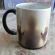 Fritid/hverdag Å gå Bar Glas og Krus, 400 Keramisk Te Vand Te & Varm Drikke Drikkeglass