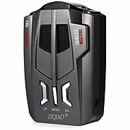 ZIQIAO Vehicle Radar Detector 360 Degrees Car Trucker Speed Detector Voice Alert Warning 16 Band Auto 12 In Put Radar Detector