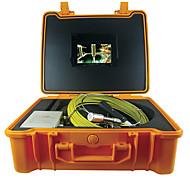 cablu șarpe 50m sub apă de canalizare țeavă de scurgere de inspecție de perete țeavă camera de endoscopul&sistem de control de perete
