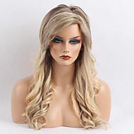 גלים ארוכים שכיחים פאה שיער אנושי לאישה
