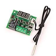 12v dc dijital soğutma / ısıtma termostatı sıcaklık kontrolü -50-110 c sıcaklık denetleyicisi 10a su geçirmez sensör problu röle