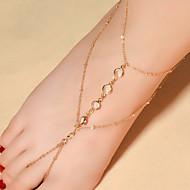 Dames Enkelring/Armbanden Kristal Modieus Drop Sieraden Voor Dagelijks Causaal 1 stuks