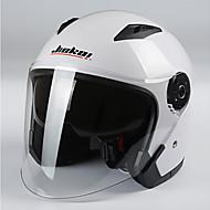 jiekai motocyklové helmy unisex skútrů Motos přilby Casco capacete s duálním objektivem