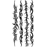 Tatouages Autocollants Séries de totem Motif Bas du Dos ImperméableHomme Femme Adolescent Tatouage Temporaire Tatouages temporaires