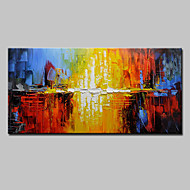 Hånd-malede Abstrakt Horisontal,Moderne Europæisk Stil Et Panel Kanvas Hang-Painted Oliemaleri For Hjem Dekoration