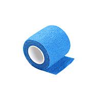 Engangs tatovering greb skridsikre blå cover selvklæbende elastik bandage 5 * 450cm