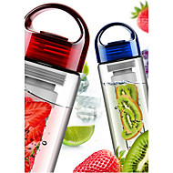 hedelmä Infusing infuser shaker vesipullo cup sitruunan mansikkamehun tiiviisiin juomalasi pullo kuppi 700ml