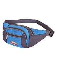 Homem Bolsas Primavera/Outono Verão Fibra Sintética Bolsa de Cintura com para Esportes Azul Marinha Arm Green Azul Céu Vermelho Violeta
