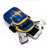 Muži Mobilní telefon Bag Tkanina Oxford Celý rok Ležérní Kulaté Zip Vodní modrá Černá