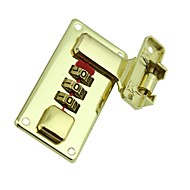 Ccm 51632 passord ulåst 3 sifferpassord dail lock og passord lås skuff låse