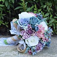"Bouquets de Noiva Buquês Casamento Miçangas Renda 11.8""(Aprox.30cm)"