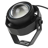1db szuper fényes LED-vaku autó ködlámpa vízálló 1000lm 10w DRL sasszem nappali menetjelző fordított biztonsági park dc12-32v
